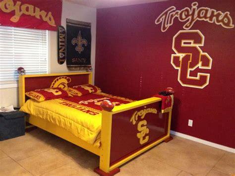 twin bed frame sports theme baseball football
