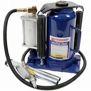 20 000kg Bottle Jack - Air  Manual Hydraulic