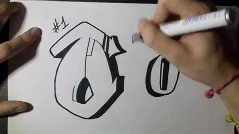 How To Draw Graffiti Letter