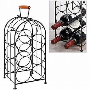 étagère à Bouteilles : etag re bouteilles pour 7 bouteilles vin cocktail cuisine ~ Teatrodelosmanantiales.com Idées de Décoration
