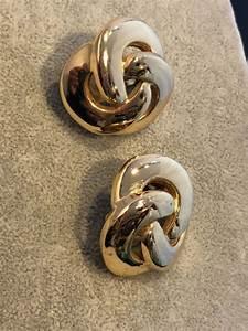 Grosse Boucle D Oreille : christian dior grosse boucles d oreilles vintage ~ Melissatoandfro.com Idées de Décoration