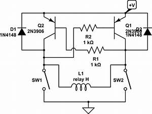 low power what is the most economical way to drive an With simple circuit provides latching fault protection