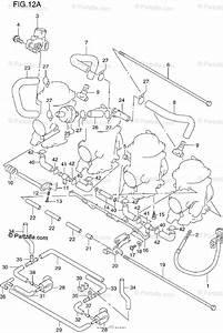 Suzuki Motorcycle 1997 Oem Parts Diagram For Carburetor