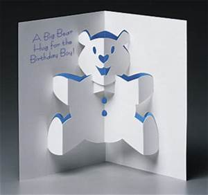 popupcardscom the world39s finest quality pop up With teddy bear pop up card template free