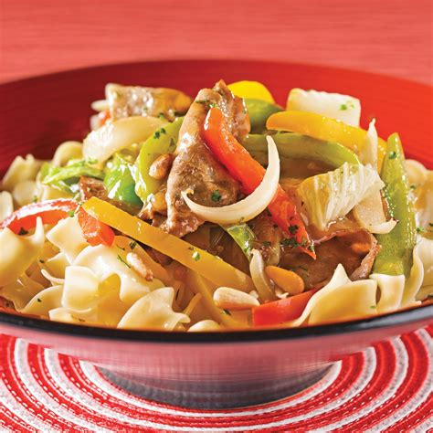cuisine chinois sauté de boeuf aux poivrons et chou chinois recettes
