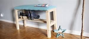 Banc Range Chaussures : tuto fabriquer un banc chaussures meuble chaussures ~ Teatrodelosmanantiales.com Idées de Décoration