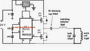 Solar Powered Induction Heater Circuit