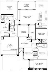 floor plan new home in waters at ocotillo pulte homes floor plans