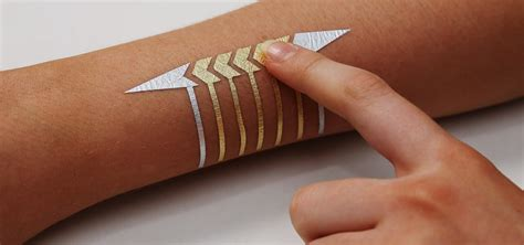 mits temporary tattoos turn  skin   touchpad