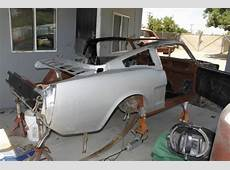 1966 Mustang Coupe to Fastback Conversion Project Car