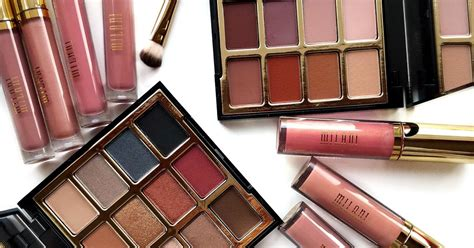milani product review eyeshadow palettes amore