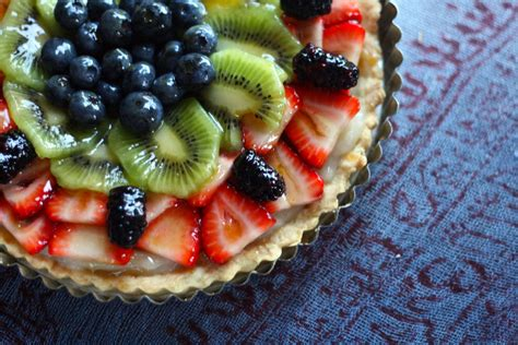 vegan fruit dessert recipes last minute vegan fruit tart serena epstein