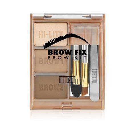 kit sourcils brow fix brow kit milani coinmakeup