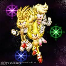Image - Super Sonic, Manic, and Sonia.jpg - Sonic Fanon ...