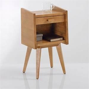 Table Bois La Redoute : chevet vintage quilda bois la redoute interieurs la redoute ~ Melissatoandfro.com Idées de Décoration