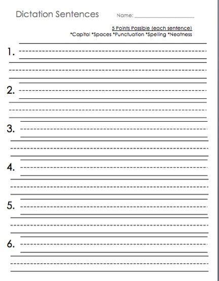 sentence writing in primary grades freebie fun free