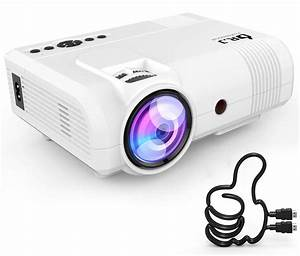 Reviews 3800lumens Portable Projector For Home Theater
