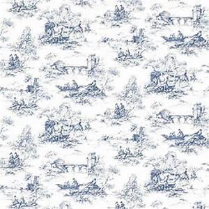 Thibaut Toile Portfolio Petite Toile Wallpaper Alexander ...