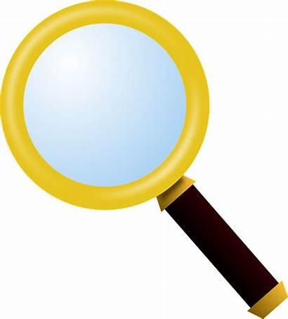 Magnifying Glass Lente Ingrandimento Clipart Di Icon