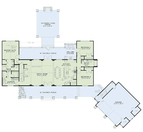 country craftsman house plans country craftsman farmhouse house plan 82085