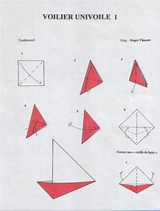 Origami Bateau à Voile :  ~ Dode.kayakingforconservation.com Idées de Décoration