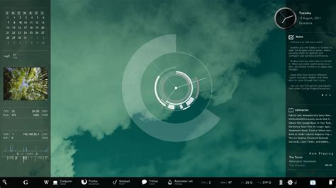 How To Create An Attractive, Customised Desktop Hud With
