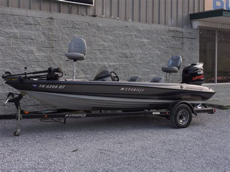 Stratos Bass Boats by Used Stratos 285 Xl Bass Boats For Sale Boats