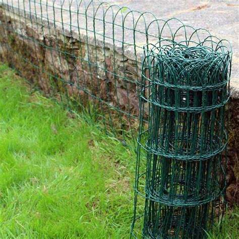 garden border fence garden border fence pvc green wire mesh edging edge lawn