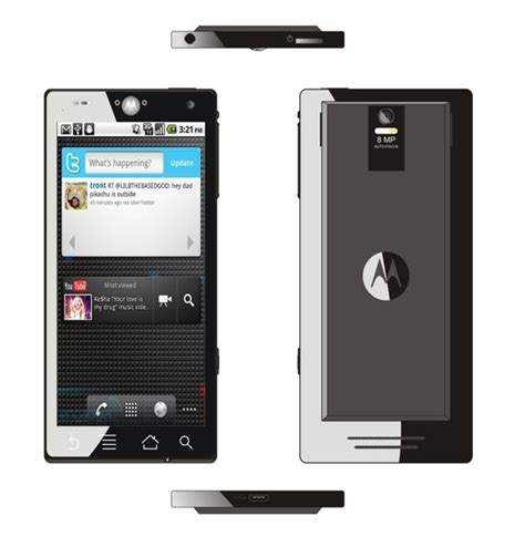 android motorola motorola android concept phone features dual arm a9