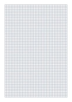 grid paper mm black blue  red  digital resource