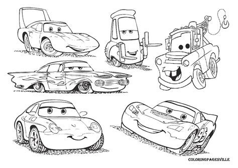 Coloring Cars Pages Bestofcoloringcom