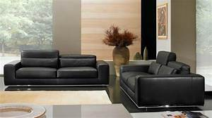 photos canape moderne cuir With canapé cuir moderne