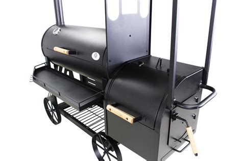 barbecue fumoir type professionnel  kg modele west