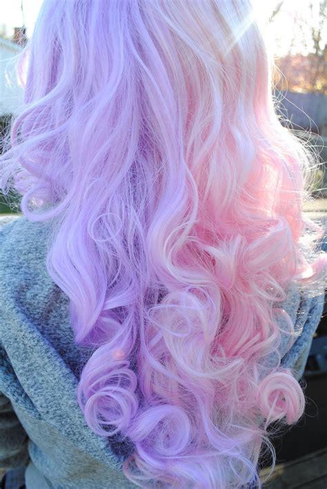 amazing rainbow pastel hair trend  women memolition