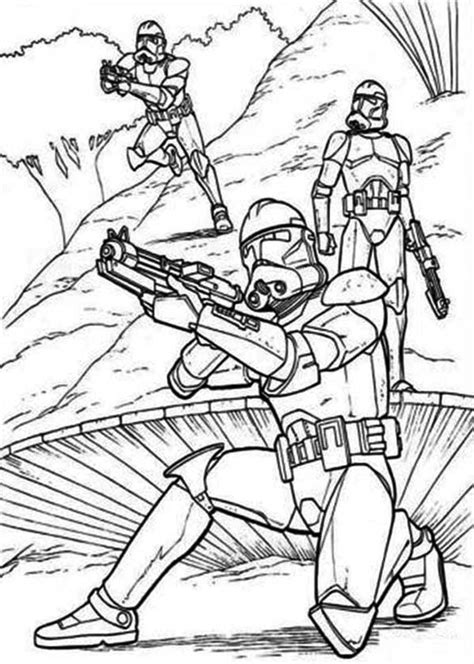 clone troopers standby  star wars coloring page  print  coloring pages