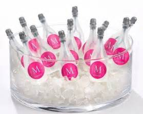 personalized wedding favors details about 120 personalized monogram chagne bottles wedding favors 2062400 weddbook