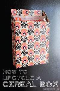 Boite A Cereale : r utiliser une boite de c r ales r utiliser c r ales et boite ~ Teatrodelosmanantiales.com Idées de Décoration