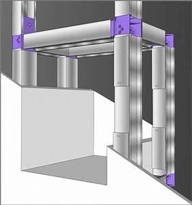 Couper Rail Placo : tutoriel comment fabriquer une niche en placo ~ Melissatoandfro.com Idées de Décoration