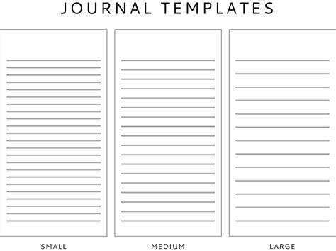 Journal Template Journal Template Freebie The Seeing The U S Of A For