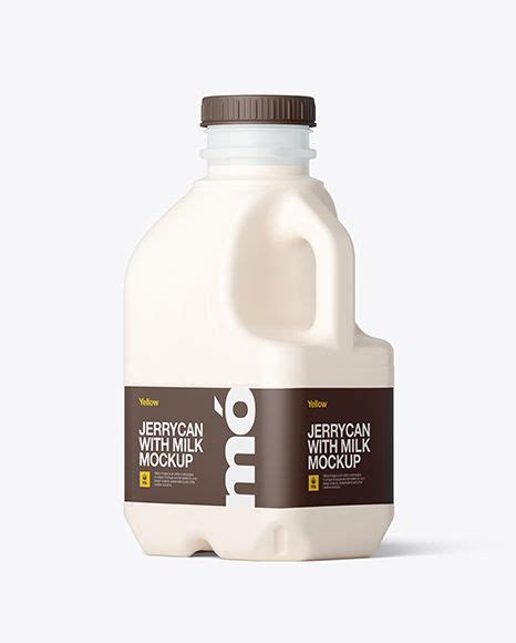 Don't forget to share and push the like button. Free Frosted Plastic Jug With Milk Mockup - Back Half Side ...