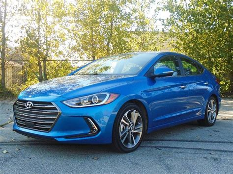 hyundai elantra limited road test  review