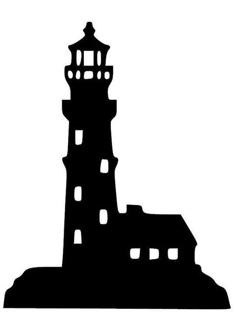 light house  vinyl decal silhouette clip art