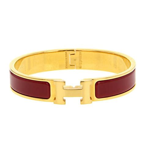 herm 232 s clic clac bracelet 321958 collector square