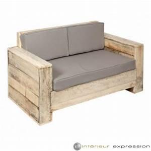 Fabriquer Un Canapé En Palette : canap en palette plan ~ Voncanada.com Idées de Décoration