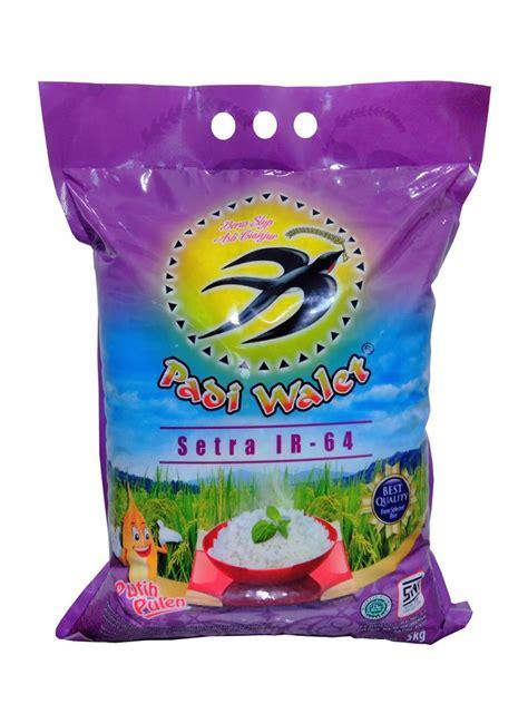 padi walet beras setra ir64 5 kg jual padi walet beras setra ir64 5 kg harga