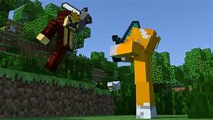 Minecraft animation: Stampy vs Hit the target - YouTube