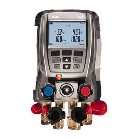 testo malaysia   digital manifold gauge test