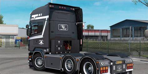 scania  tolner  ets mods euro truck