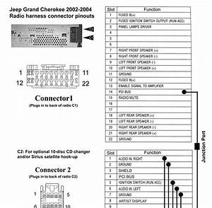 1993 Jeep Grand Cherokee Radio Wire Diagram