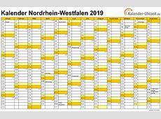 Feiertage 2019 NordrheinWestfalen + Kalender